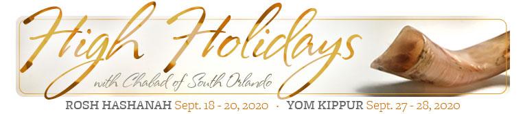 High Holidays at Chabad of South Orlando