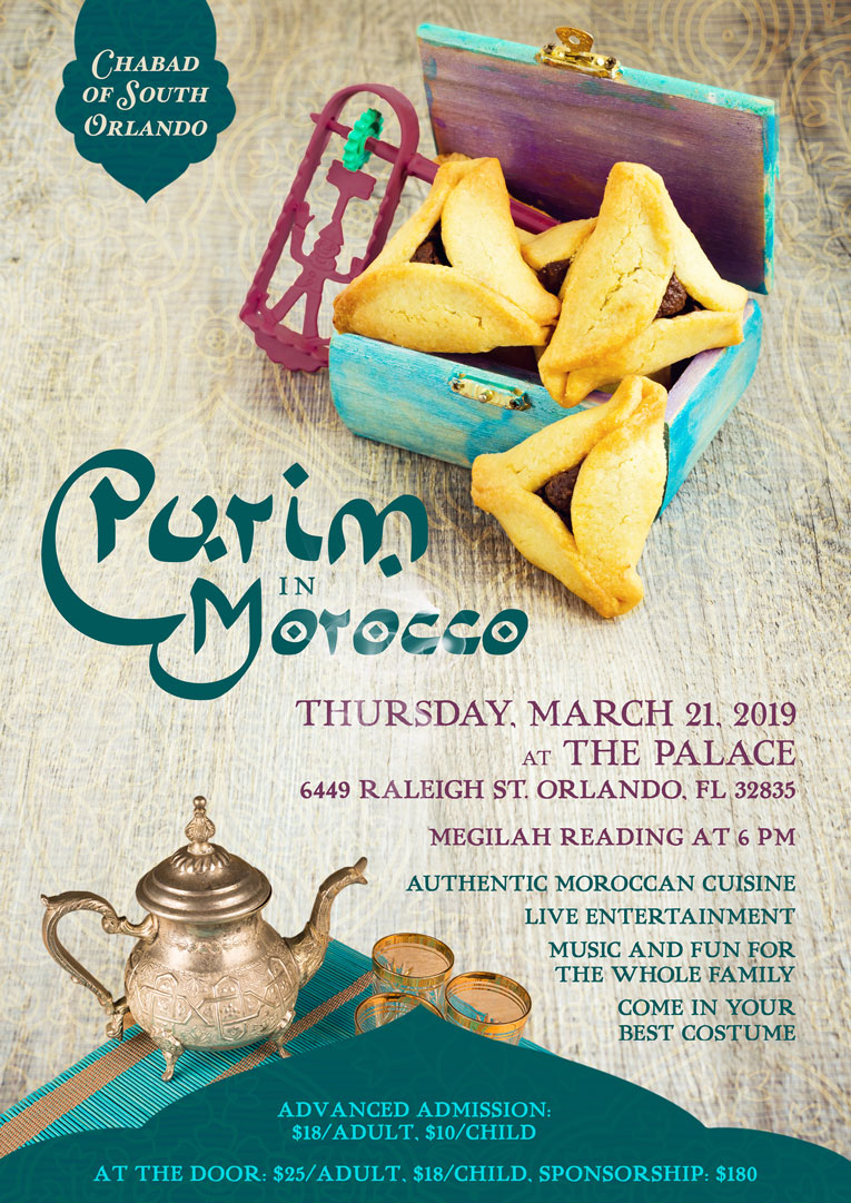 Purim in Morocco - Chabad of South Orlando - Judaism for the